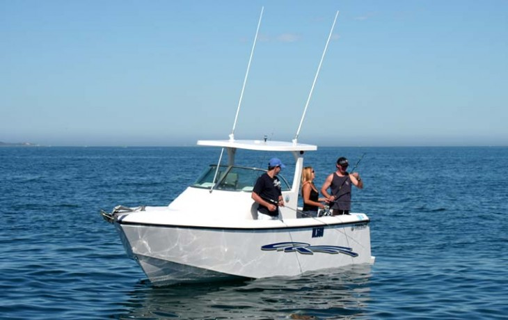 Fibrelite Centre Cab 6250 fishing, excellent stability