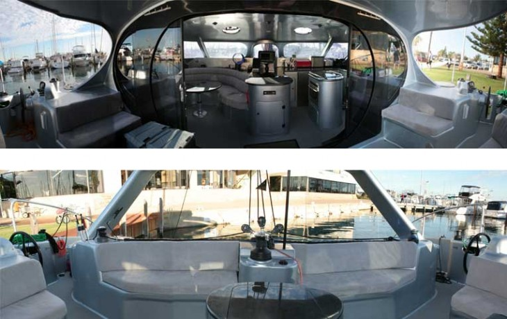 50' Schionning Catamaran.
