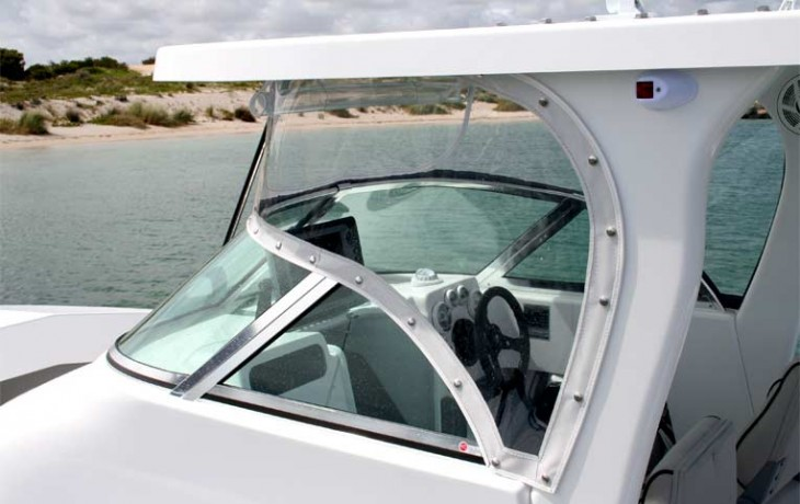 Fibrelite Centre Cab 6250, great visibility, windscreen and clears