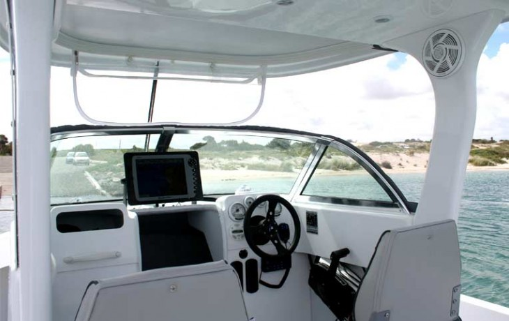 Fibrelite Centre Cab 6250 enclosed cockpit