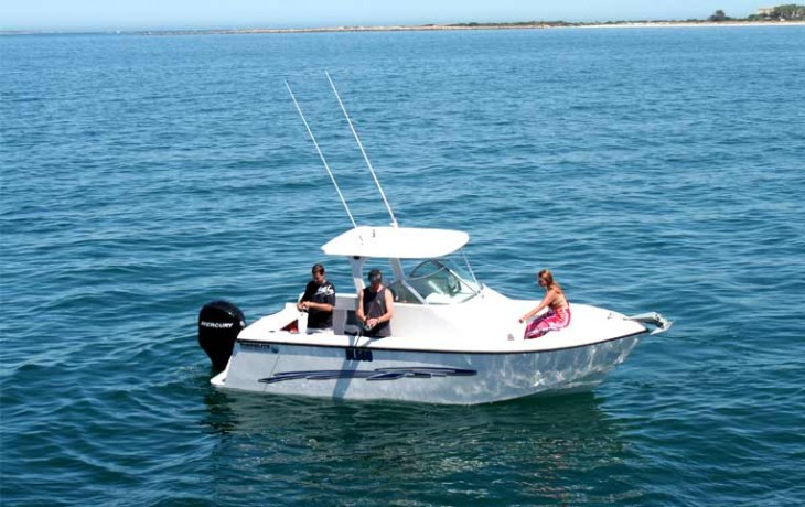 Fibrelite Centre Cab 6250, excellent stability makes fishing a great experience