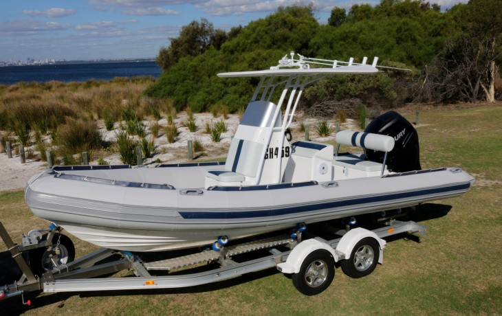 Stingray Narine 6.5 mtr fully fitted out by Fibrelite Boats