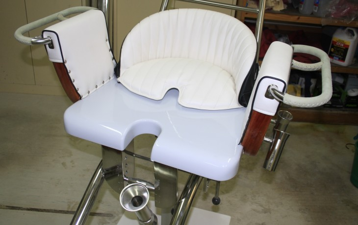 Fully restored game chair.