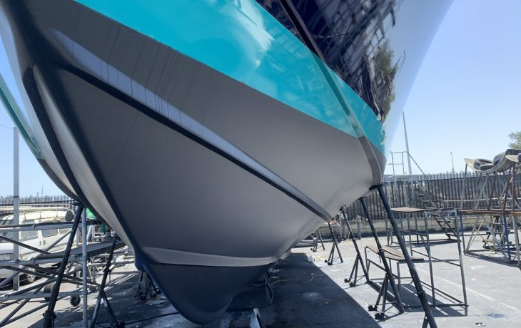Assegia 54 anti-fouling completed.